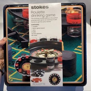 Stokes Roulette adult drinking game NIB